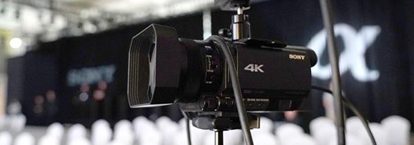 索尼AX700摄像机 简洁高效的直播神器
