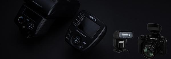 富士胶片推出小巧大功率热靴式闪光灯EF-60与无线引闪器EF-W1