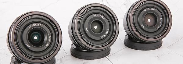 便携三剑客 索尼FE50mm、40mm和24mm G镜头评测