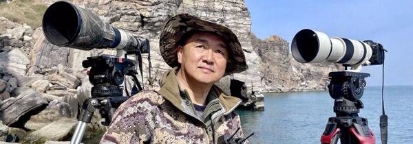他为什么要行摄生态中国《循翼 万里海疆》