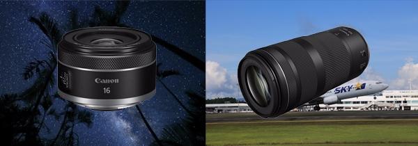 兼顾小型轻量化与高画质  佳能发布RF100-400mm F5.6-8 IS USM和RF16mm F2.8 STM ...