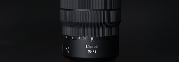 专微超广先锋 佳能RF15-35mm F2.8 L IS
