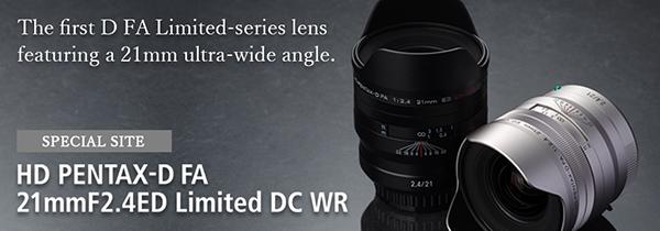 理光K卡口全画幅可交换镜头数码相机用广角定焦镜头新上市